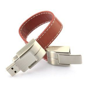 DBPOWER Bracelet Leather Flash Drive