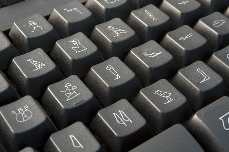 Ancient Egyption Keyboard