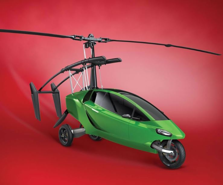 The Helicycle: Motorcycle to Gyrocopter