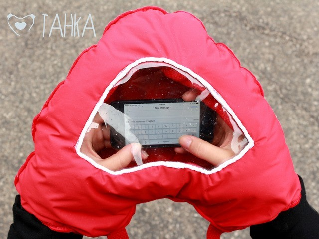 TAHKA Keeps Your Hands & Smartphone Warm
