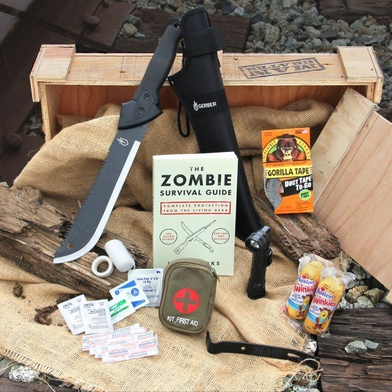 Get Prepared with Zombie Survival Crate