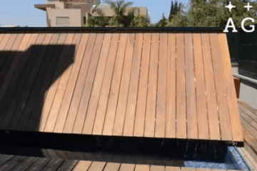Folding Floor for Swimming Pools by AGOR