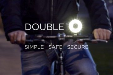 Double O: Magnetic Safety Light for Your Bike