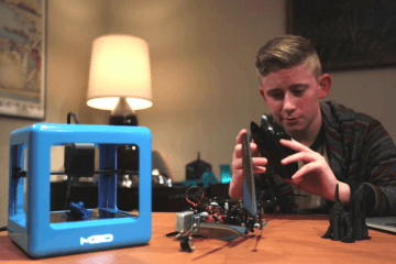 The Micro Compact 3D Printer