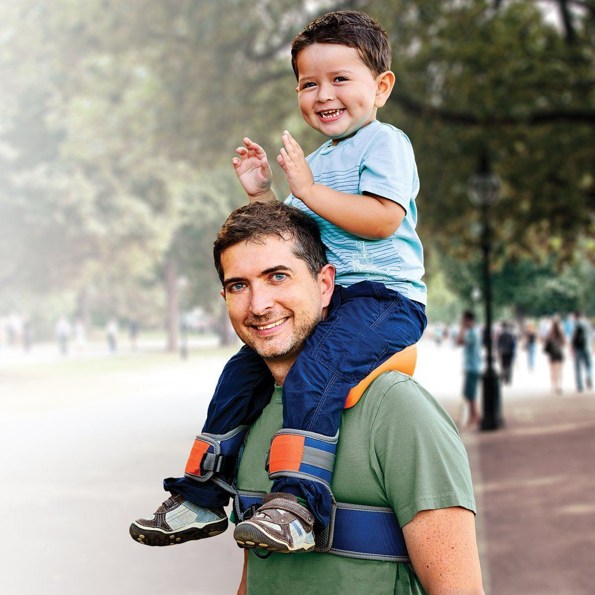 Saddlebaby Baby Shoulder Carrier For Parents Gadgetify Com