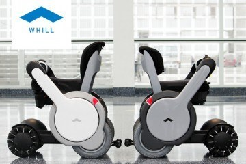 WHILL Personal Mobility Device w/ Smartphone Control