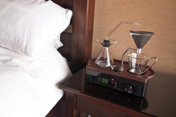 Coffee-making Alarm Clock Wakes You Up The Right Way