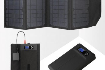 Levin 20W Foldable Laptop Solar Charger
