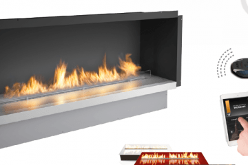 Fire Line Automatic 3 WiFi Controlled Fireplace