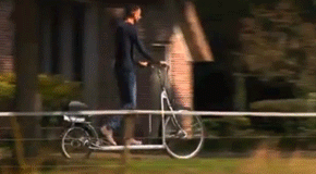 Bike + Walking Platform: Outdoor Fun?
