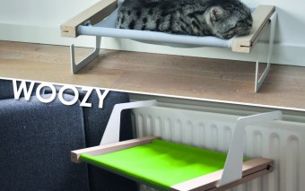 WOOZY: Versatile Hammock / Bed for Cats