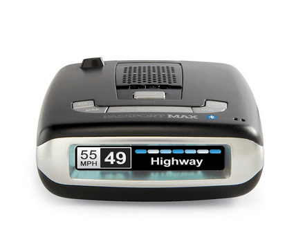 Passport Max2 HD Radar Detector + App [iOS/Android]