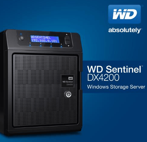WD Sentinel DX4200 Storage Server for Small Businesses
