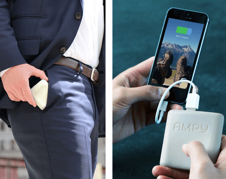 AMPY: Wearable Motion Charger for Smartphones