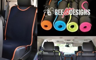 BeeDry Mat: Protect Car Seats from Sweat, Stains