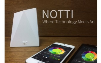 Notti: App Controlled Lights + Notifications