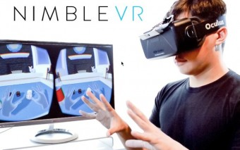 Nimble Sense Captures Your Hands for Virtual Reality