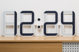 ClockONE: Thin, Meter Long Clock w/ E-Ink
