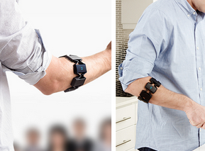 Myo Armband for Gesture-Based Photography