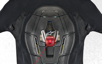 Tech-Air Self-contained Airbag System for Riders