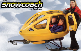 The Snowcoach by Equinox: Snowmobile Trailer