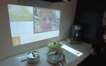 Whirlpool's Interactive Kitchen of the Future