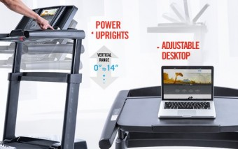 Thinline Pro Desk Treadmill: Work + Exercise