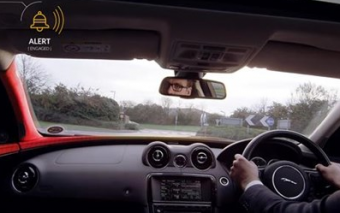 Jaguar Land Rover's 'Bike Sense' Prevents Accidents