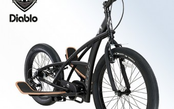 3G Diablo Stepper Bike for Outdoor Fitness