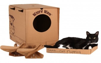 Kitty Kan Traveler Enclosed Disposable Litter Box