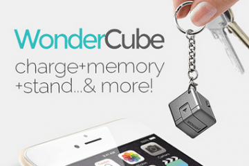 WonderCube: Charger + Stand + Memory for Smartphones