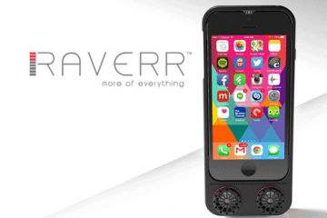 RAVERR: Multifunctional Case for Smartphones