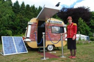 Sol Cinema: World's Smallest Solar Movie Theater