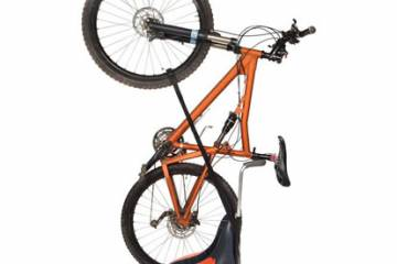 Space Saving Upright Bike Stand