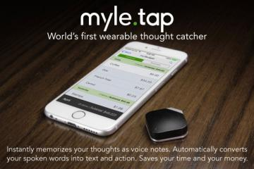 MYLE TAP: Wearable Voice Recorder