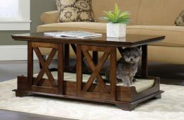 Sauder-Coffee-Table-Pet-Bed