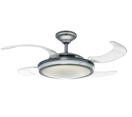 Hunter fanaway ceiling fan has retractable blades fanaway this ceiling fan looks decent and offers a quiet performance it is available for under 370 at this time aloadofball Choice Image