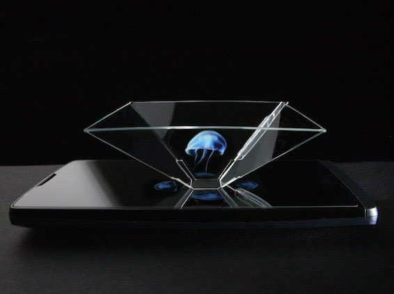 Peppergram Projector Holograms On Your Smartphone