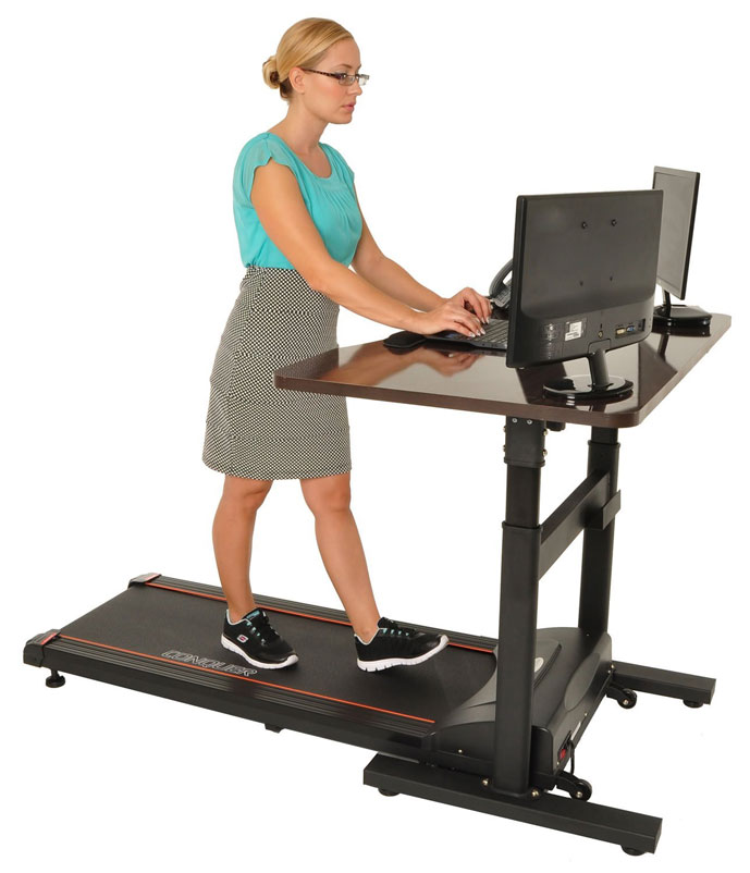Conquer Electric Treadmill Standing Desk