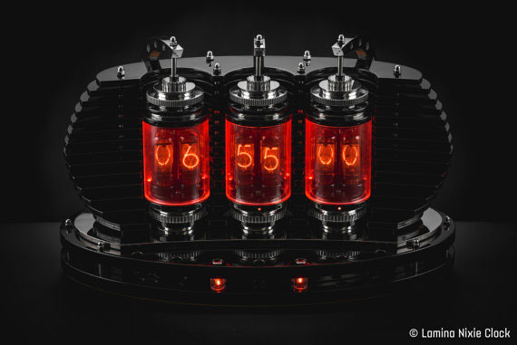 Lamina Nixie Clock With Wifi