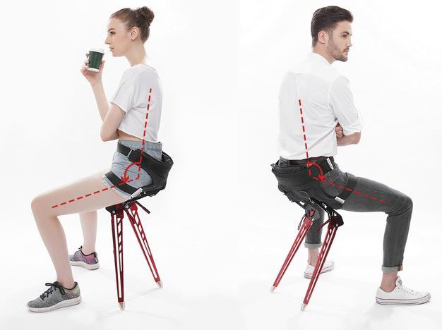 Lex Bionic Chair That Lets You Sit Anywhere