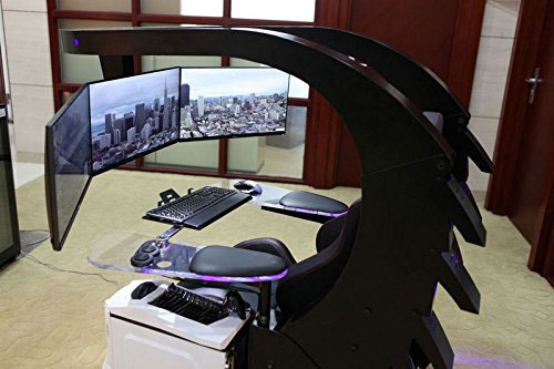 Iwj20 Gaming Workstation With Massage Heating Support